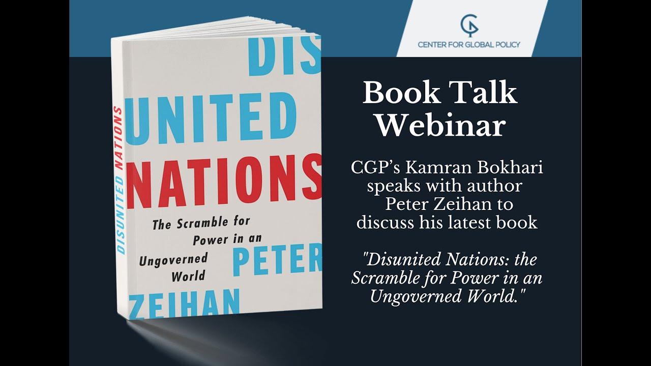 Book Talk with Peter Zeihan