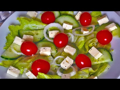 Garden Salad | Banting Healthy Side Idea | LCHF Lifestyle | Real Food