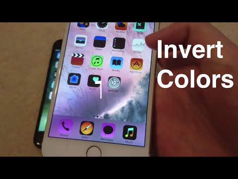 iOS 10 How to Invert Colors iPhone 7
