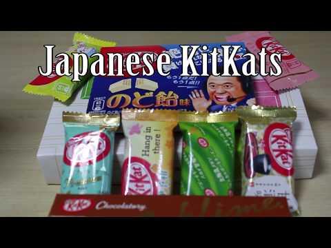 Japanese kitkats 2: Electric boogaloo