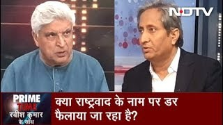 Prime Time | 2019 Election Most Important Since Independence: Javed Akhtar To Ravish Kumar