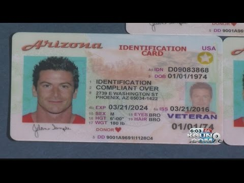 Arizona ID's valid for air travel until October 2020