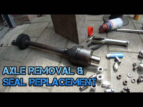 Classic Mini Axle Removal and Seal Replacement