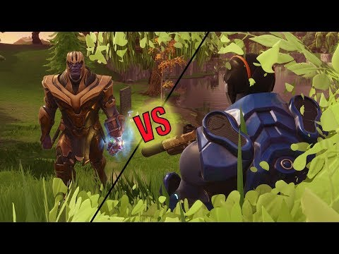 THANOS VS BUSH WOOKIE | NEW FORTNITE LIMITED TIME MODE