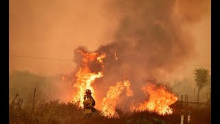 Wildfires continue to spread in Southern California