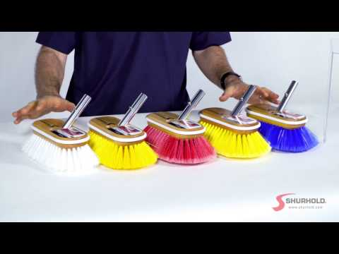 Unboxing: Shurhold Deck Brushes