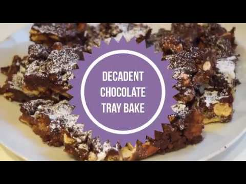 Delicious chocolate tray bake | recipe
