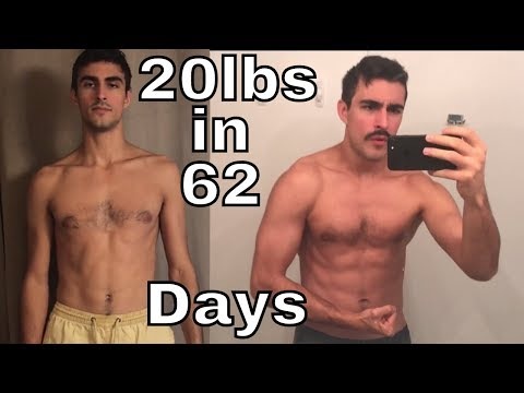 20lbs Gained in 62 Days - 90 Day Bulk Challenge