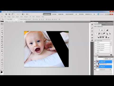 Photoshop CS5: Creating a Collage
