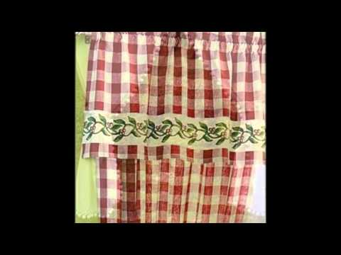 Farmhouse Kitchen Curtains Ideas