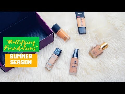 Myntra Summer Beauty Guide: My Top 5 Mattifying Foundations For This Summer
