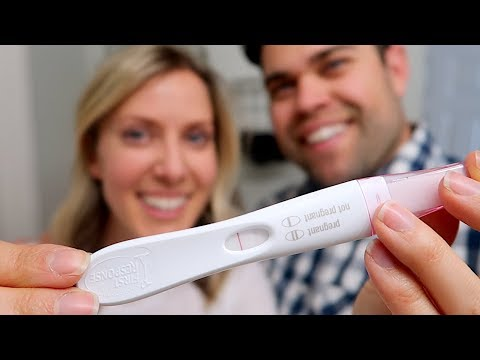 LIVE POSITIVE HOME PREGNANCY TEST!