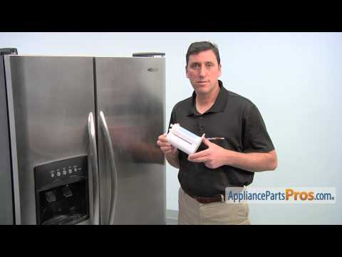 Refrigerator Water Filter (part #WF2CB) - How To Replace