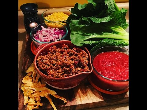 Raw Vegan Taco Salad .....OMG MUST TRY !!!!!!!!!