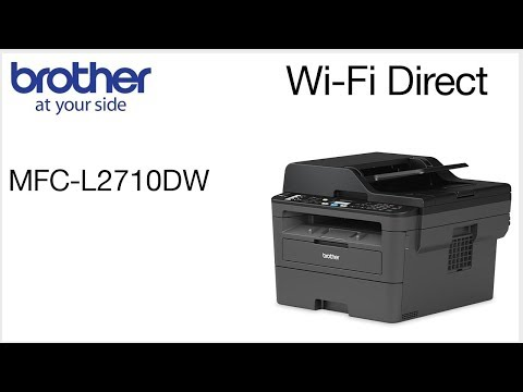 Connect to MFCL2710DW with Wi-Fi Direct