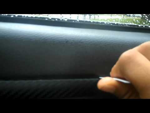 Installin Carbon fiber vinyl on 300c doors