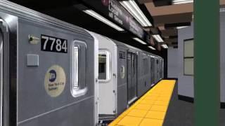 OpenBVE: R142A (6) Express to Brooklyn Bridge via Loop | Bronx