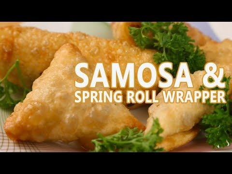 Samosa & Spring Roll Wrapper Recipes | Mallika Josepph FoodTube