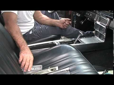 1966 Impala or Caprice Console removal