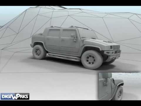 Craft Customer Animation - Hummer Demo by DigiWorks