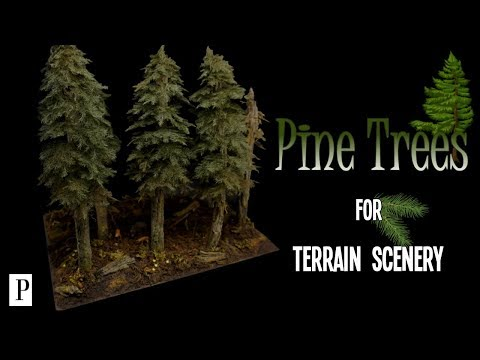How To Make Pine Trees For Terrain Scenery