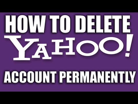 How to Delete Your Yahoo Account Permanently 2016