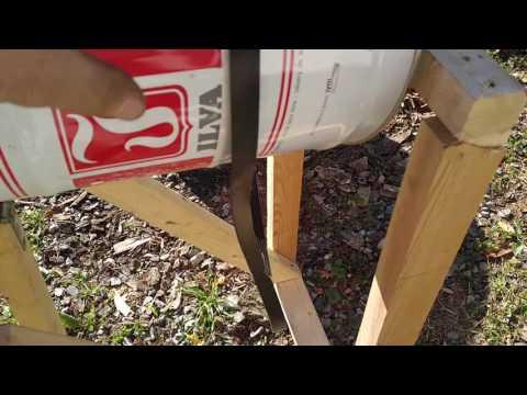 Bucket Mortar Mixer Homemade