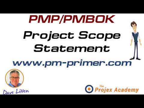pmp project scope statement