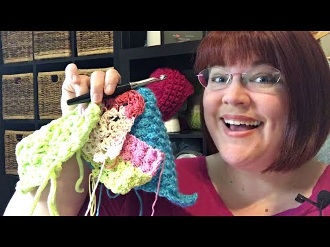 🔴How to Resize Marshmallow Crochet Baby Blanket