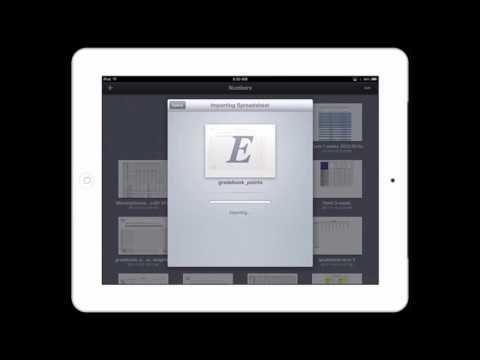 Open Excel Files In Apple's Numbers