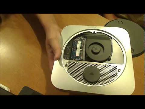 Apple Mac mini Unboxing, Setup, and RAM Upgrade (Mid-2011 Model) in 2012