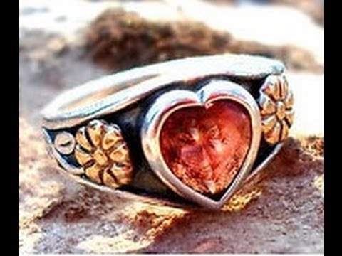 Valentine's Day 2014 Gold and Silver James Avery Heart Shaped Garnet Giveaway!
