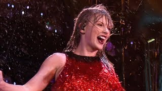 Taylor Swift BREAKS Record While Performing in Pouring Rain