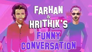 Farhan and Hrithik's funny conversation | Ki Ki Challenge  | What The Farhan | Ft Mirchi Kunal