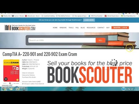 Easy legit way to make quick money online with bookscouter $50 a day