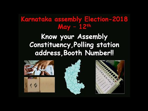 Karnataka elections 2018 important find your polling booth|Locate booth|Must know