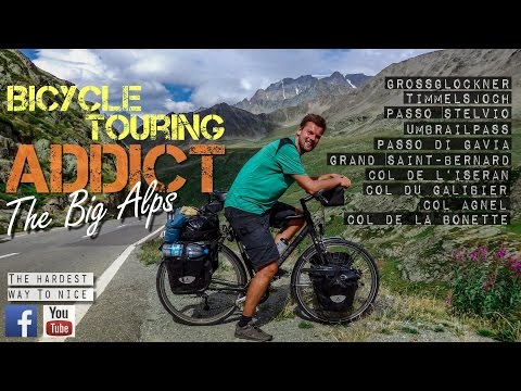 Bicycle Touring - Cycling the 10 Highest Passes of the Alps