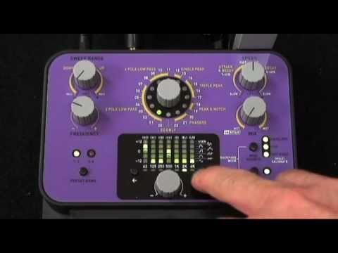 Dubstep and Electronica Bass Pedal Demo - Soundblox Pro Bass Envelope Filter