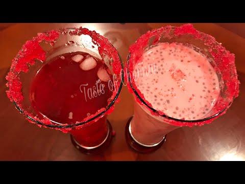 Best Iftar Drink Rooh Afza Sharbat 2 Varieties | Rooh Afza Sharbat | Rooh Afza Milkshake Recipe