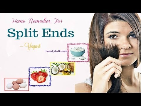 How to Get Rid of Split Ends Without Cutting Hair