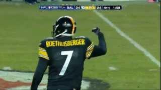 Antonio Brown playoff catch vs. Ravens (HD)
