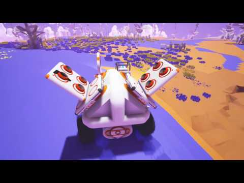 Astroneer Dangly ep7 - Linking bases & half unit resources problems.