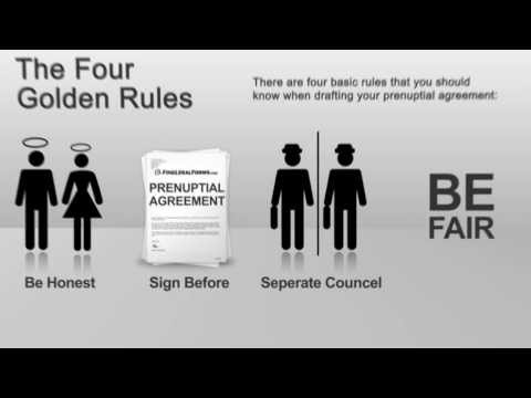 Prenuptial Agreements - The Basics