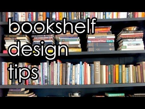 Bookshelves Interior Design Tips - LEIDTV1
