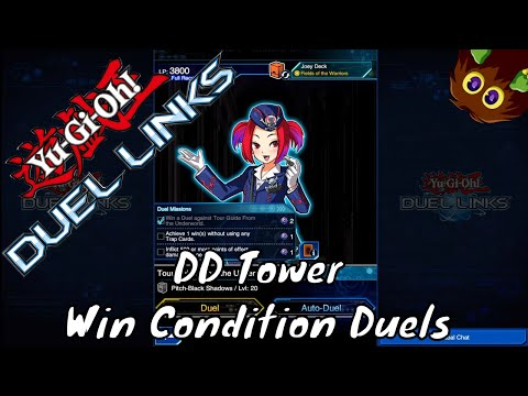 Yugioh Duel Links Season 2 Ep. 13 - DD Tower Win Condition Duels
