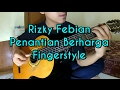 Rizky febian - penantian berharga Fingerstyle gitar cover