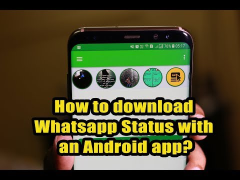 How to download Whatsapp Status with an Android app?