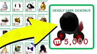 BUYING THE LOST DOMINUS OF ROBLOX! *DEADLY DARK DOMINUS*