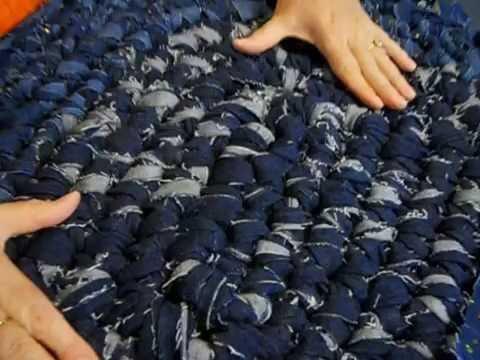 Key to Making Denim Rag Rugs