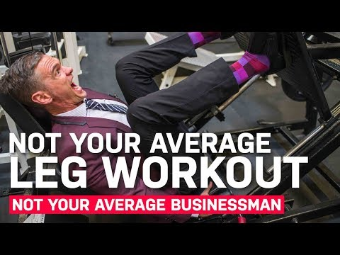 CRAZY LEG DAY WORKOUT, BUT EVEN CRAZIER DAY OF BUSINESS
